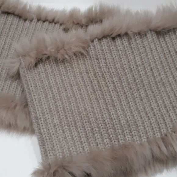 The Cashmere Project Accessories - Cashmere + Rabbit Infinity Scarf